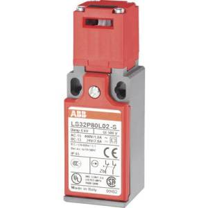 Safety button 400 V AC 1.8 A separate actuator momentary ABB LS32P80L02-S IP65 1 pc(s)