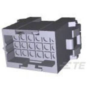 TE Connectivity Pin enclosure - cable Metrimate Total number of pins 18 Contact spacing: 5 mm 207443-1 1 pc(s)