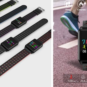 Multi-Function Bluetooth Smart Watch With Heart Rate Monitor