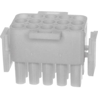 TE Connectivity Pin enclosure - cable Universal-MATE-N-LOK Total number of pins 15 350736-1 1 pc(s)