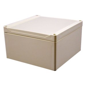 Hammond 1555S2GY Watertight PC Enclosure Styled Lid 160 x 160 x 90...