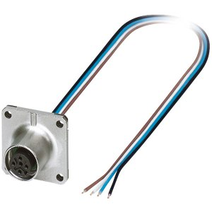 Phoenix Contact 1420003 M12 Sensor/Actuator Plug SACC-SQ-M12FS-4CO...