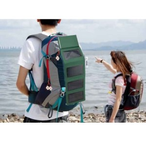 Solar Charger Power Folding Storage Bag Mobile Power Bank 4 Panel for iPhone iPad Tablet PC Digital Camera 8000mAh