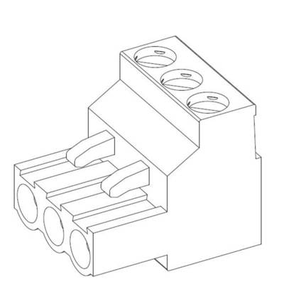 TE Connectivity Pin enclosure - cable Total number of pins 2 Contact spacing: 5 mm 796640-2 1 pc(s)
