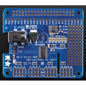Adafruit 2327 16 Channel Servo HAT / PWM for Raspberry Pi A+, B+ or 2