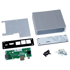 Lincoln Binns PIBS1 Pi-Box Pro for Raspberry Pi in Silver with Acc...