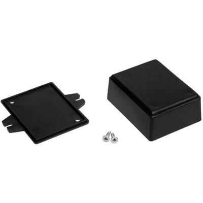 TRU COMPONENTS 4U32090503006 Universal enclosure 86 x 49 x 28 Black 1 pc(s)