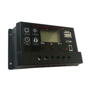 Universal Solar Panel Controller Battery Charge Regulator
