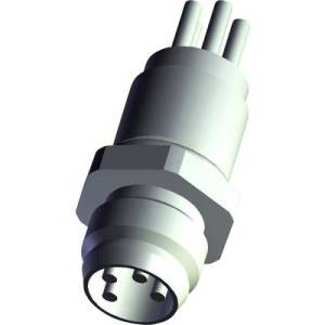TE Connectivity 6-2271134-2 Sensor/actuator built-in connector M12 Plug, mount No. of pins (RJ): 12 1 pc(s)