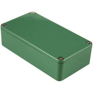 Hammond Electronics 1590XXGR Universal enclosure 145 x 121 x 39 Aluminium Green 1 pc(s)