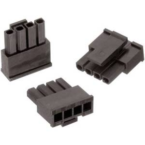 Wuerth Elektronik Socket enclosure - cable WR-MPC3 Total number of pins 3 Contact spacing: 3 mm 662003013322 1 pc(s)