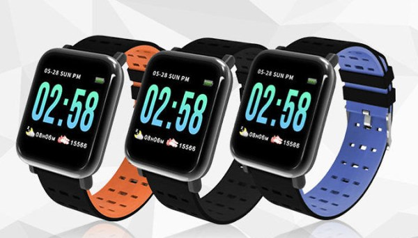 Smart Watch With Blood Pressure Monitor - 3 Colours