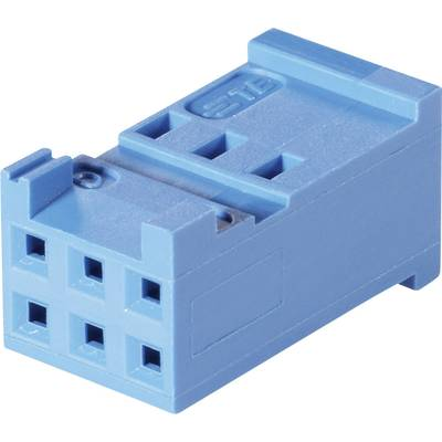 TE Connectivity Socket enclosure - cable AMPMODU HE13/14 Total number of pins 20 Contact spacing: 2.54 mm 1-281839-0 1 pc(s)