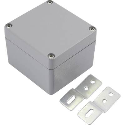 TRU COMPONENTS 92022c00230 Universal enclosure 64 x 58 x 35 Acrylonitrile butadiene styrene Light grey 1 pc(s)