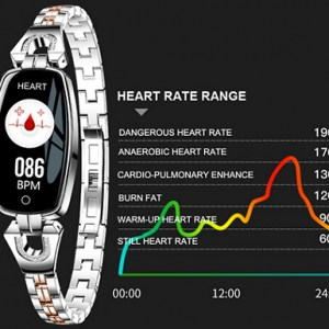 12-in-1 MetallicFit Smart Watch with Heart Rate Monitor - 3 Colours