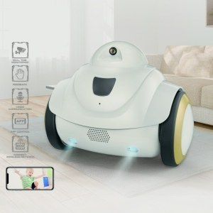R02 Robot Pet Baby Camera Monitor WiFi Camera Home Security 720P Camera Intelligent Interactive Robot
