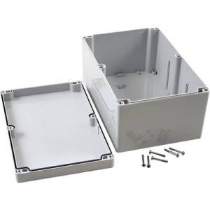 Hammond Electronics 1554VB2GY Universal enclosure 240 x 160 x 120 Polycarbonate (PC) Grey 1 pc(s)