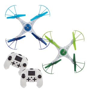 Flying Gadgets Battle Drones Pair of Remote Control Drones
