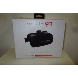 Stealth VR Virtual Reality Headset - VR50 Powered by your smartphone