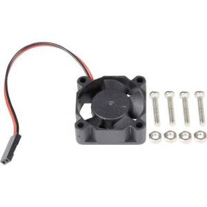 rb-heatsink3 Fan Compatible with: Raspberry Pi, Rock Pi, Banana Pi Black