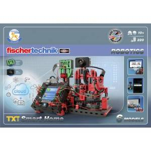 Assembly kit fischertechnik ROBOTICS TXT Smart Home 544624 10 years and over