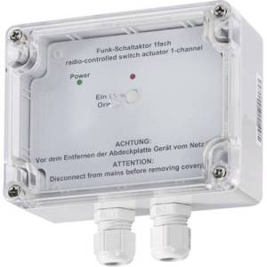 Homematic 76795 Wireless Actuator 1-channel Surface-mount 3680 W
