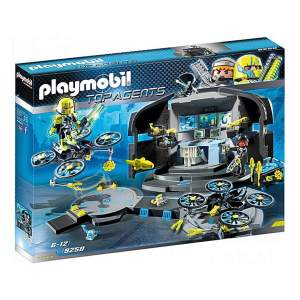 Playmobil 9250 Dr. Drone's Command Base