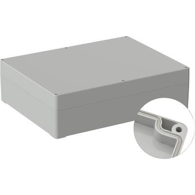 TRU COMPONENTS Universal enclosure 300 x 230 x 85 Polycarbonate (PC) Grey-white (RAL 7035) 1 pc(s)