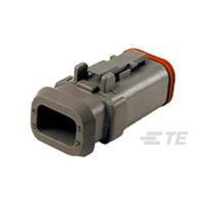 TE Connectivity Socket enclosure - cable DT Total number of pins 4 DT06-4S-E008 1 pc(s)