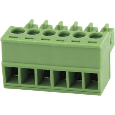 Degson Pin enclosure - cable Total number of pins 6 Contact spacing: 3.81 mm 15EDGK-3.81-06P-14-00AH 1 pc(s)