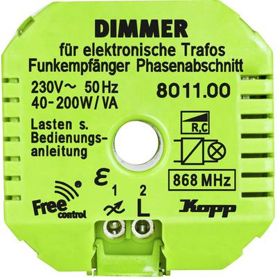 Kopp Free Control 1-channel Dimmer actuator