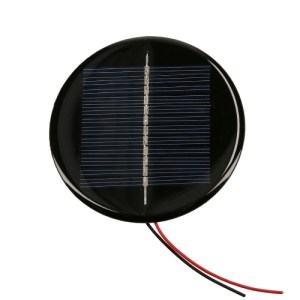 0.5W 6V 80mA Mini Solar Cell Polycrystalline Silicon Solar Panel
