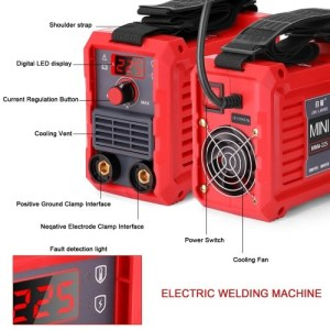 20-225A MMA-225 Electric Welding Machine Household Mini Inverter Portable 220V IGBT Digital Small Industrial Welding Machine