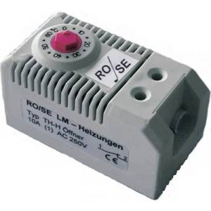 Rose LM Enclosure themostat TH-H 1 breaker (L x W x H) 60 x 32 x 43 mm 1 pc(s)