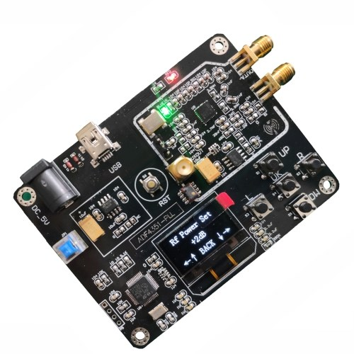 Signal Generator Module 35M-4.4GHz RF Signal Source Frequency Synthesizer ADF4351 Development Board
