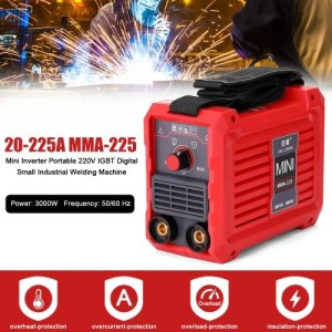 20-225A MMA-225 Electric Welding Machine Household Mini Inverter Portable 220 V IGBT Small Industrial Welding Machine