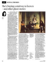 Independent on Sunday 2005 article on scary sounds