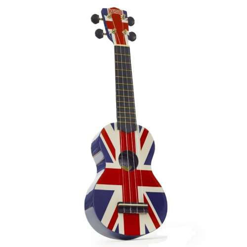 Mahalo Soprano Ukulele Union Jack Design With Bag