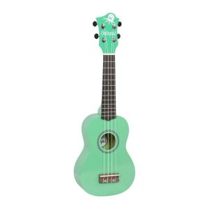 Octopus metallic series soprano ukulele Green