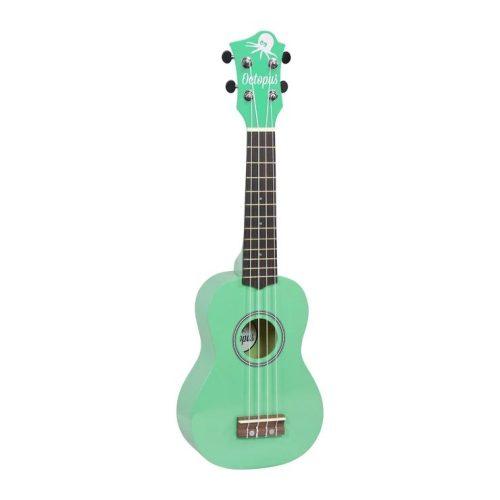 Octopus metallic series soprano ukulele Green