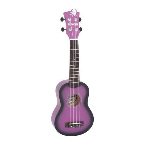 Octopus matt burst series soprano ukulele Purple burst