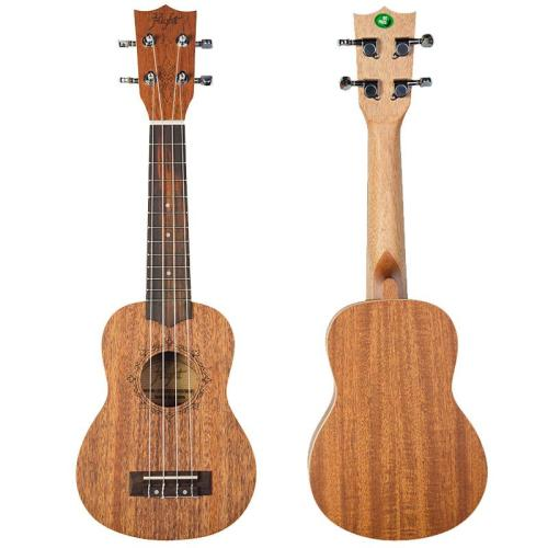 Flight DUS321 Soprano Ukulele Mahogany With Bag