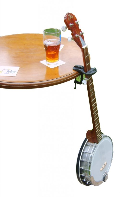 Pub Table with Banjo propped