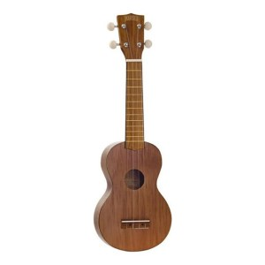 Mahalo Kahiko Plus Wide Neck Soprano Ukulele Brown