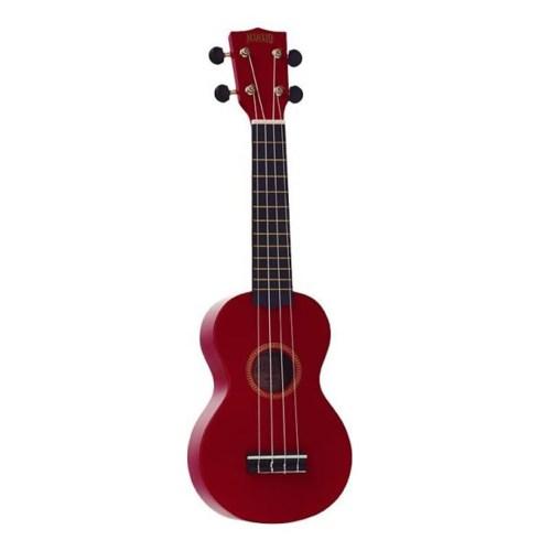 Mahalo Rainbow soprano ukulele Red