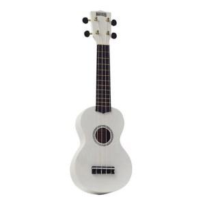 Mahalo Rainbow soprano ukulele White