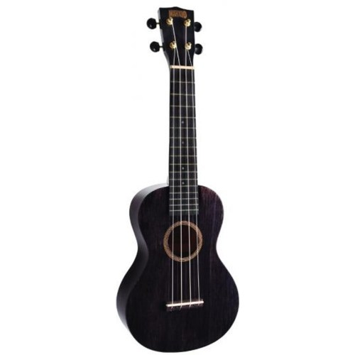 Mahalo Hano concert ukulele Black