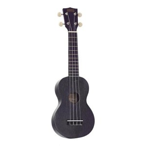 Mahalo Kahiko Plus soprano ukulele Black Wide Neck