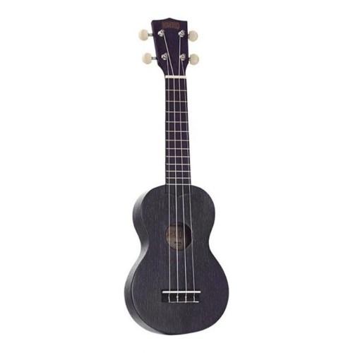 Mahalo Kahiko Plus soprano ukulele Black Wide Neck
