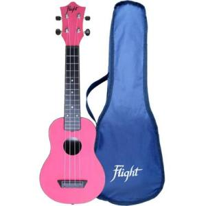 Flight TUS35 ABS Travel Ukulele Pink